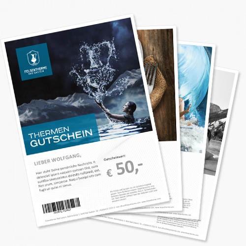 print@home-Wertgutschein - Betrag frei wählbar!