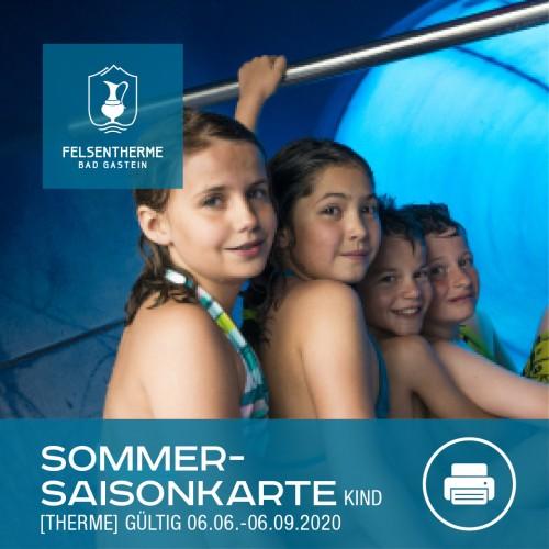 Sommersaison Karte Kind (6 – 15,9 Jahren, Therme)