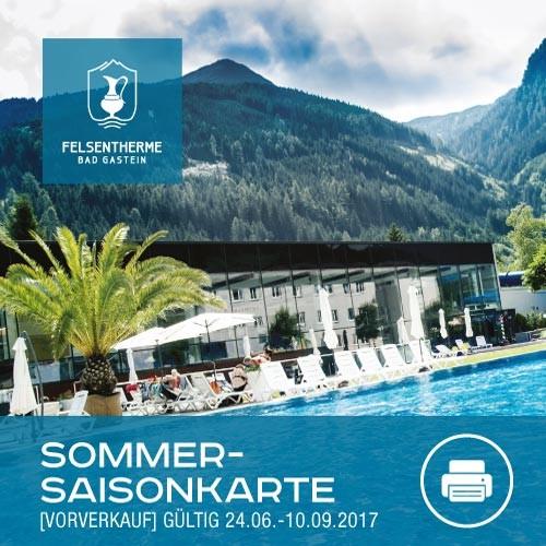 Sommersaison Karte Erwachsen (ohne Sauna)