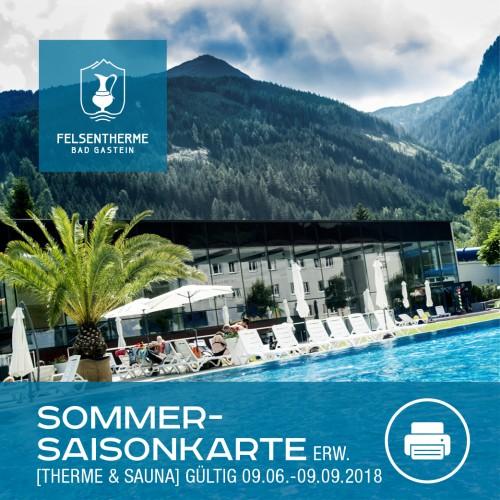 Sommersaison Karte Erwachsen (Therme & Sauna)
