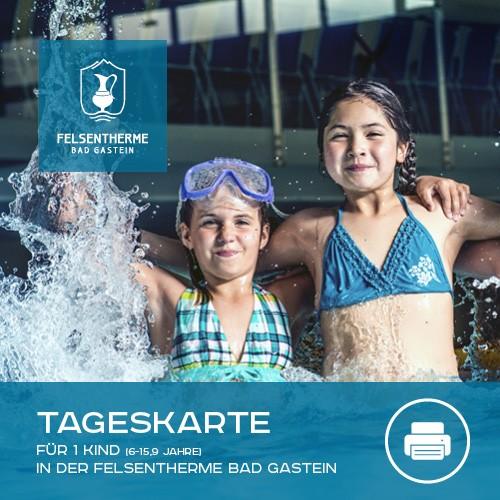 1 Tageskarte Kinder (6 - 15,9 Jahre) - print@home